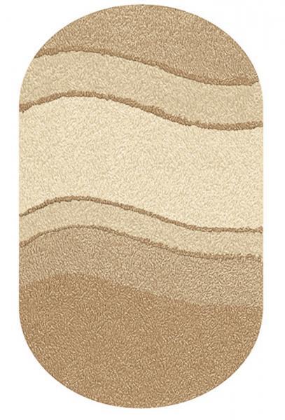 Kleine Wolke Bad Teppich Siesta 5476231225 , 70 x 120 cm, bambusbeige