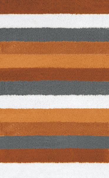 Kleine Wolke Bad Teppich Bilbao 5407334225, 70 x 120 cm, chili