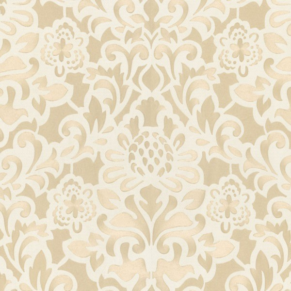 Marburg Tapeten Opulence : Marburg Opulence 2 Vlies Tapete 56004 Barock wei? beige metallic