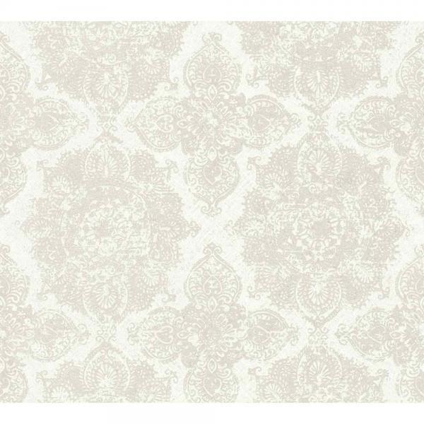 A.S. Creation Boho Love Vlies Tapete 364632 Ornament metallic beige grau