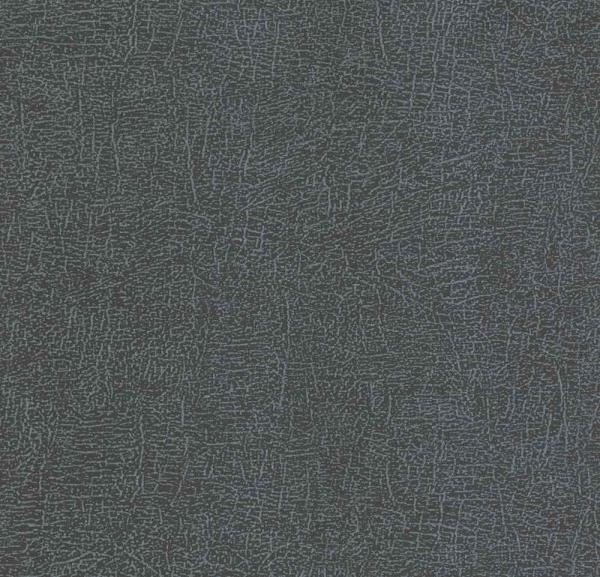 P+S Lacantara Vlies Tapete 13706-10 Uni schwarz blau anthrazit metallic
