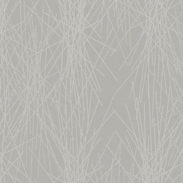Marburg Vlies Tapete Gina 57819 Grafisch grau metallic