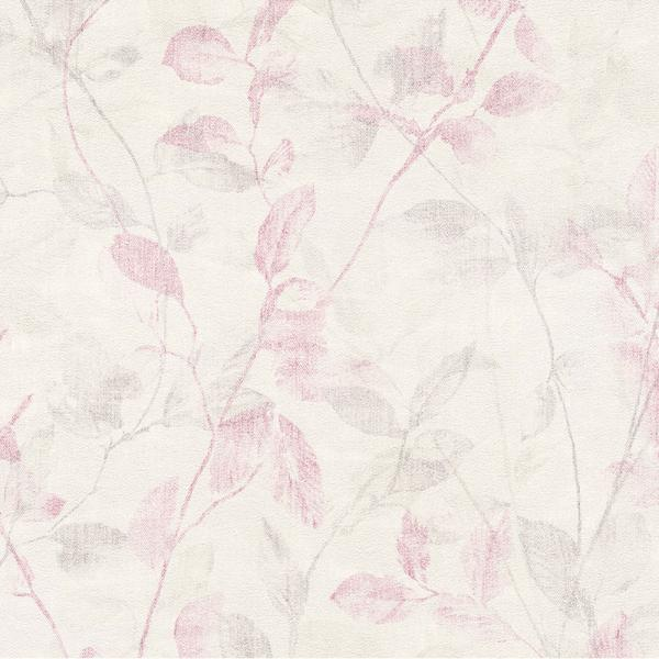 A S Creation Esprit Home Vlies Tapete 938916 Floral Creme Rot