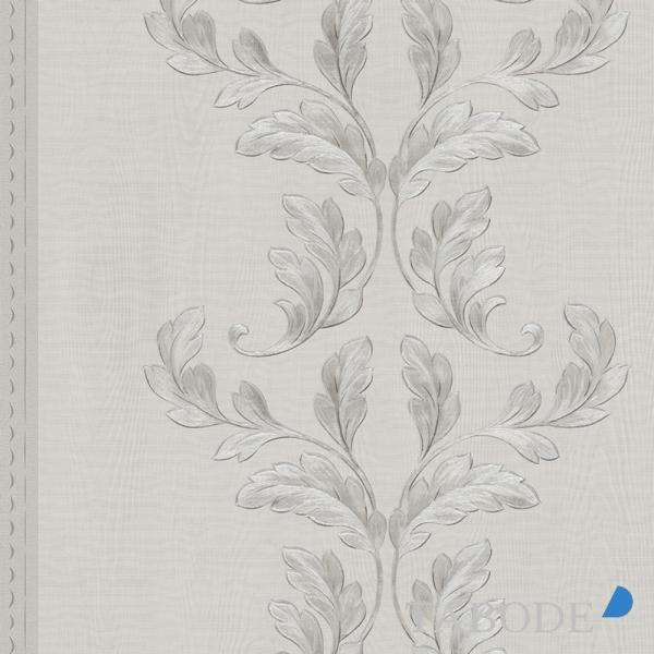 Marburg Opulence Classic Vlies Tapete 58253 Floral silber grau metallic