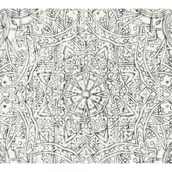 A.S. Creation Boho Love Vlies Tapete 364613 Ornament Modern schwarz weiß grau