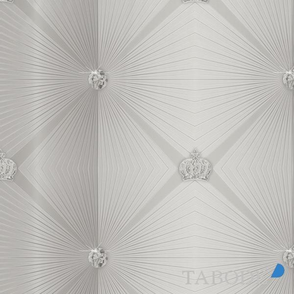 Marburg Gloockler Imperial Vlies Tapete 54841 Design Silber