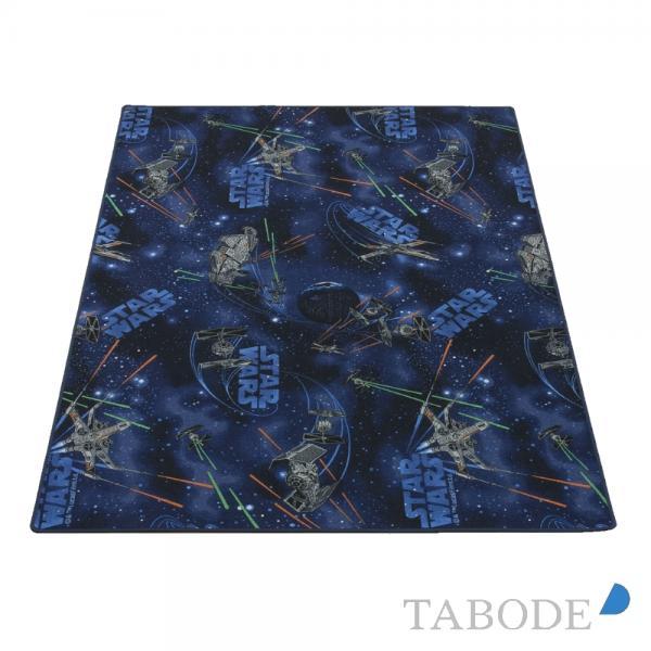 TABODE Spielteppich Star Wars dunkelblau ca. 140 x 200 cm