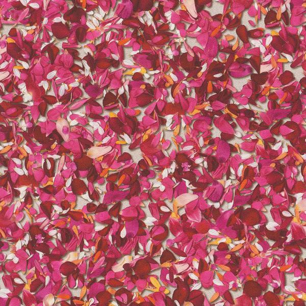 Rasch b.b. Home Passion 5 Vlies Tapete 476002 Floral rot pink weiß