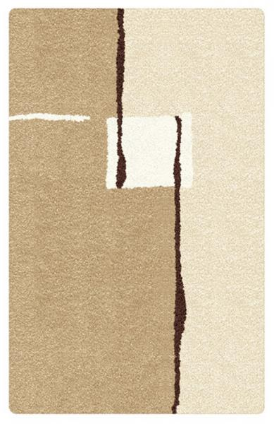 Kleine Wolke Bad Teppich Malaga 5425224539, 55 x 65 cm, toffee