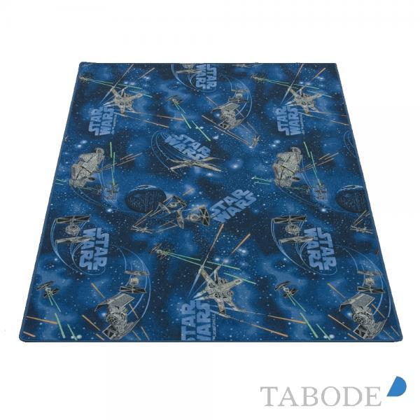 TABODE Spielteppich Star Wars hellblau ca. 200 x 200 cm