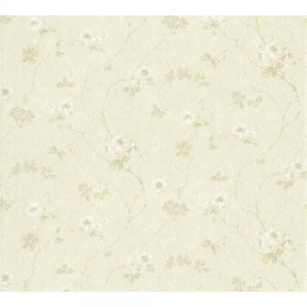 A.S. Creation Unique Vlies Tapete 361111 Floral Ornament beige grün glimmer