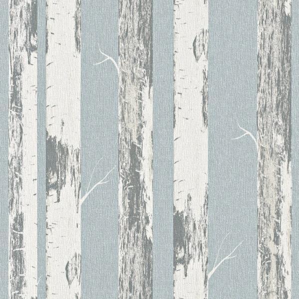 Rasch Amelie Vlies Tapete 574555 Natur Blau Creme Natural Stil
