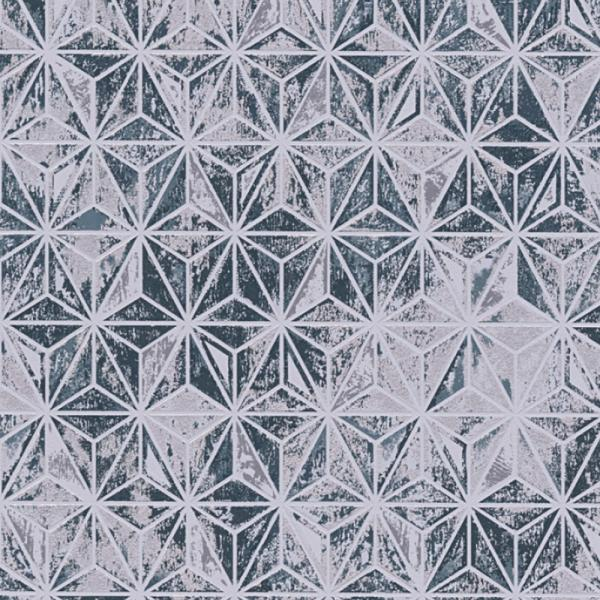 a s creation vision vlies tapete 307056 geometrisch blau. Black Bedroom Furniture Sets. Home Design Ideas