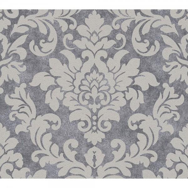 A.S. Creation Trendwall Vlies Tapete 372701 Classic beige grau metallic