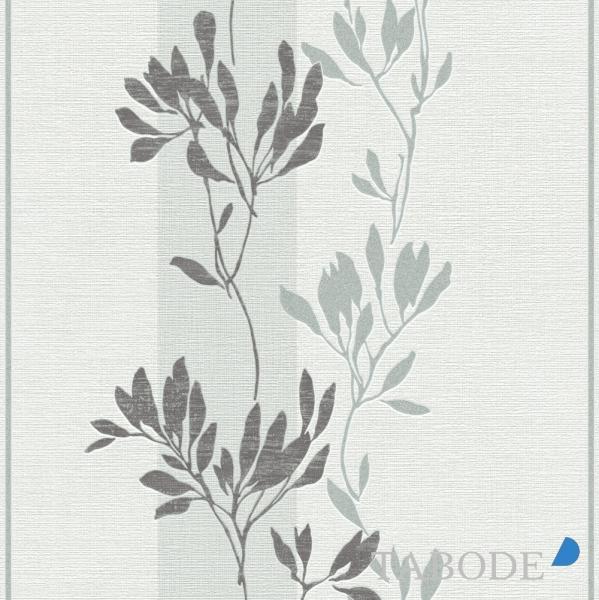 Rasch Selection Vlies Tapete 730111 Floral weiß grau silber