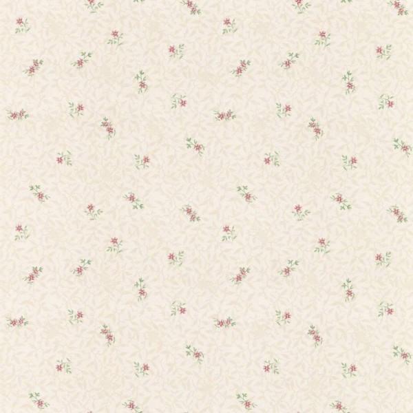 Essener Pretty Prints Papier Tapete PP27837 Floral Landhaus beige rosa grün