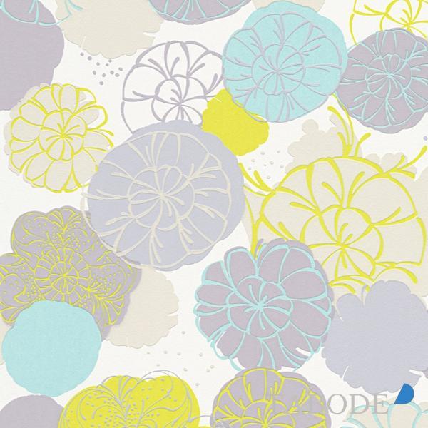 A S Creation Esprit 12 Vlies Tapete 327631 Floral Blau Grau Grun