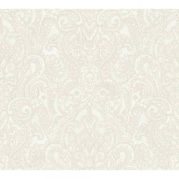 A S Creation Boho Love Vlies Tapete 364582 Ornament Grau Beige