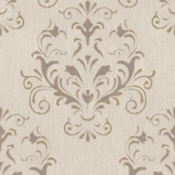 P+S Spotlight Vlies Tapete 02522 20 Ornament Beige Braun