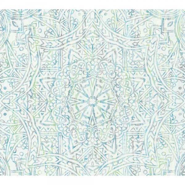 A.S. Creation Boho Love Vlies Tapete 364612 Ornament Modern blau grün weiß