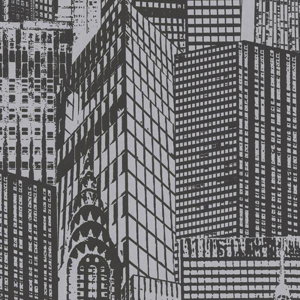 A.S. Creation Black & White 2 Vlies Tapete 252821 Modern schwarz silber