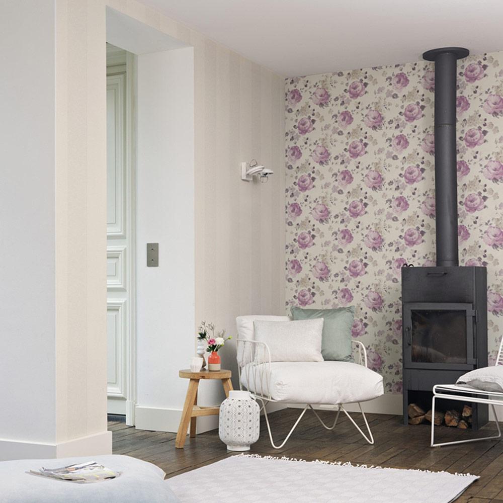 rasch florentine vlies tapete 448832 floral beige bunt. Black Bedroom Furniture Sets. Home Design Ideas
