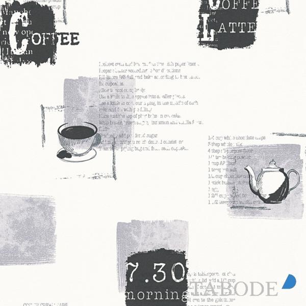 A.S. Creation Kitchen Dreams Vlies Tapete 327334 Küche grau schwarz weiß