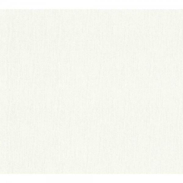 A.S. Creation Flavour Vlies Tapete 366881 Floral Uni weiß