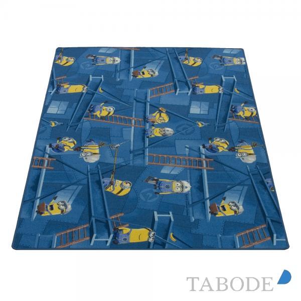 TABODE Spielteppich Minions blau ca. 200 x 200 cm