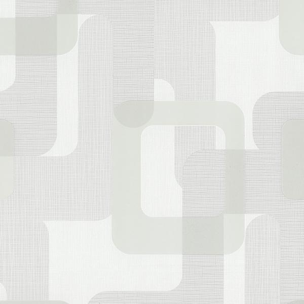 p s novara ii vlies tapete 13460 10 grafik retro grau wei. Black Bedroom Furniture Sets. Home Design Ideas