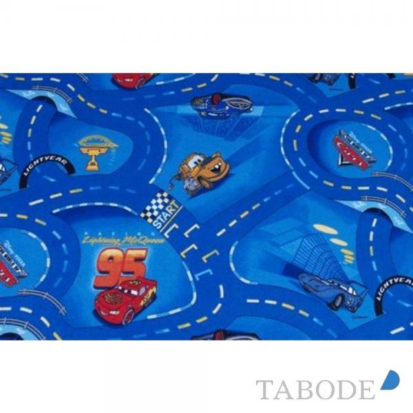 TABODE Spielteppich World of Cars blau, in verschiedenen Größen