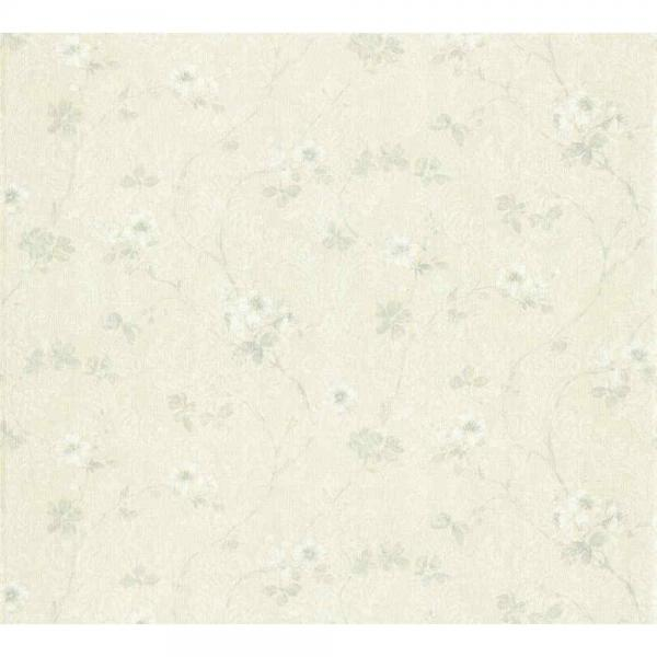A.S. Creation Unique Vlies Tapete 361112 Floral Ornament creme beige grau glimmer
