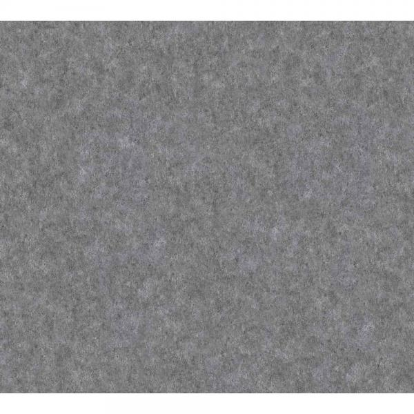 A.S. Creation Materials Vlies Tapete363721 Uni schwarz metallic