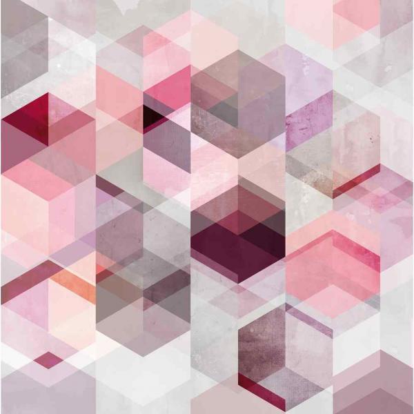Rasch Young Artist Collection Vlies Fototapete 100938 rosa violett lila