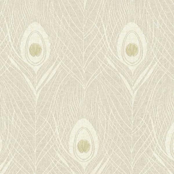 Architects Paper Absolutely Chic Vlies Tapete 36971-7 Modern Grafisch beige grau metallic