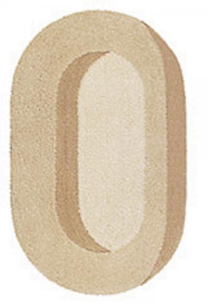 Kleine Wolke Bad Teppich Romance 4478226539, 55 x 65 cm, sandbeige