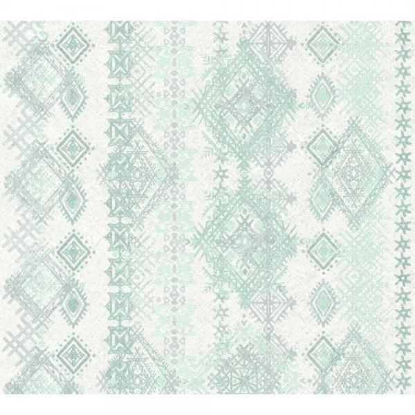 A.S. Creation Boho Love Vlies Tapete364661 Modern blau grün grau