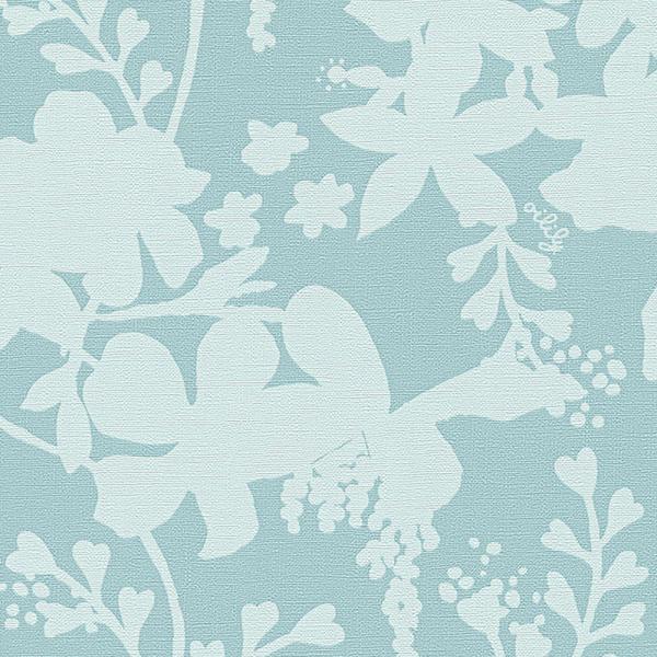 A.S. Creation Oilily Atelier Vlies Tapete 302742 Floral blau