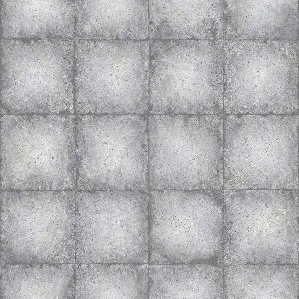 Essener Ambiance Vlies Tapete Grafisch grau silber metallic G67794 Grafisch  grau silber metallic