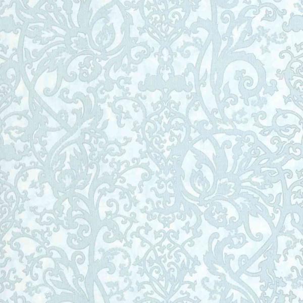 P+S Vintage Queen Vlies Tapete 02475-72 Barock blau
