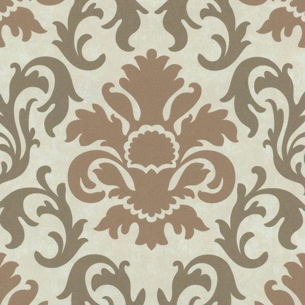 P+S Carat Vlies Tapete 13343-50 Barock beige bronze metallic