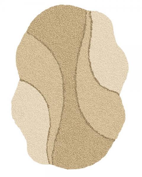 Kleine Wolke Bad Teppich Excelsior 4031224426, 60 x 75 cm, Toffee