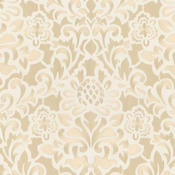 Marburg Opulence 2 Vlies Tapete 56004 Barock weiß beige metallic