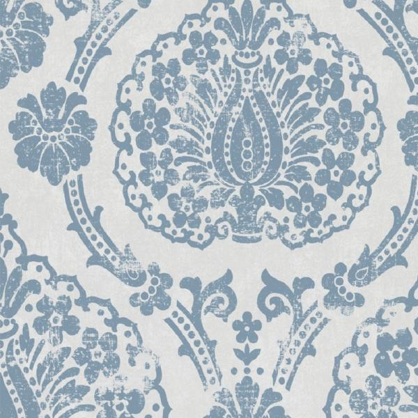 marburg scandinavian vintage vlies tapete 51651 barock wei blau barock stil themen. Black Bedroom Furniture Sets. Home Design Ideas