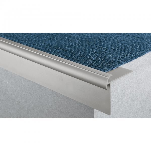 Tretford Treppenprofil Farbe neusilber 3 Meter