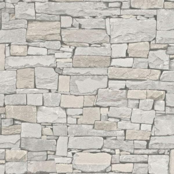 Rasch Modern Surfaces Vlies Tapete 859126 Naturstein creme beige