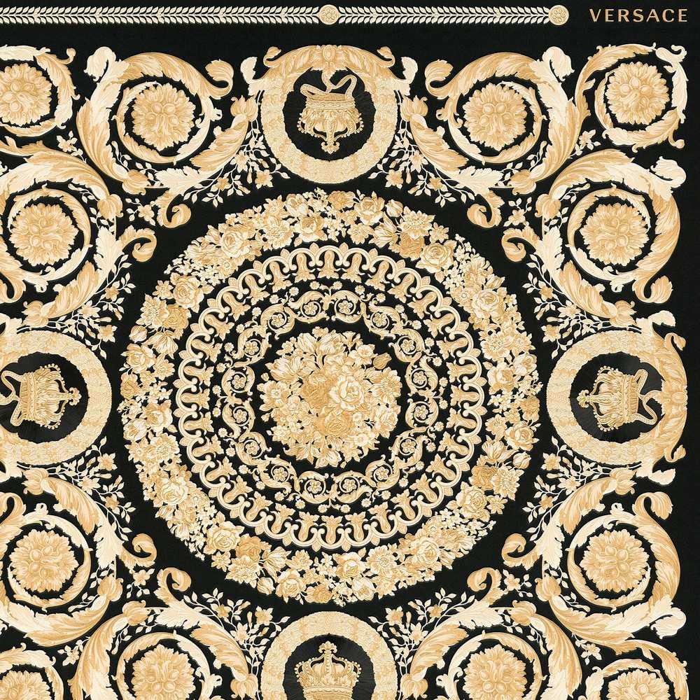 A.S Creation Versace 4 Vlies Tapete 935856 Classic Floral Natur grün gelb beige